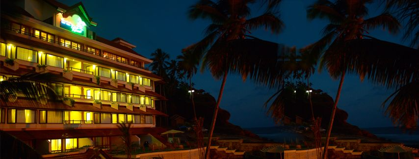 The resort at Evening