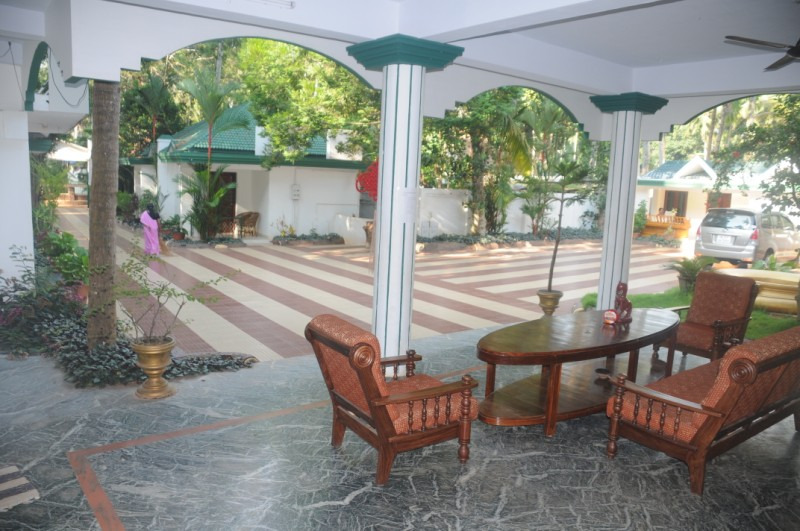Verandah at the Entrance