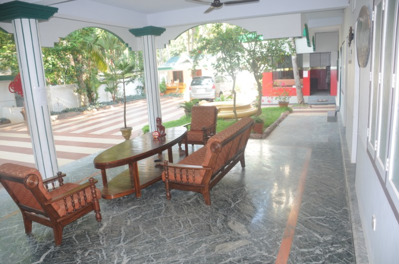 Verandah at the Entrance 1