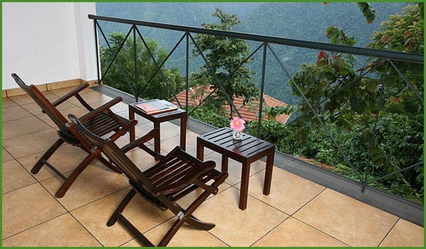 Verandah withchairs