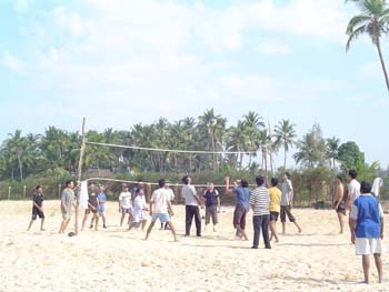 Saivishram-beach-volleyball