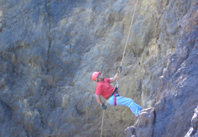 Rock climbing at the resort