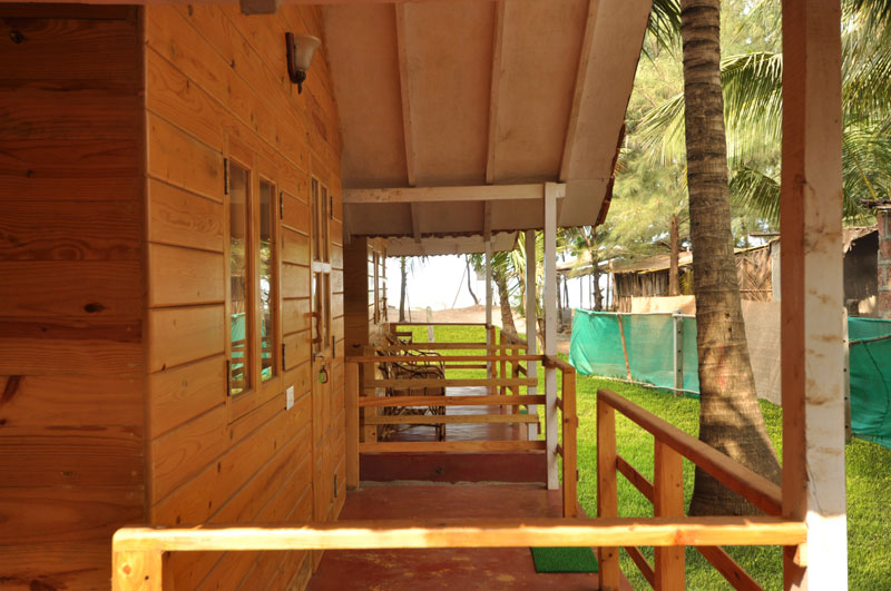 Verandah of the cottage