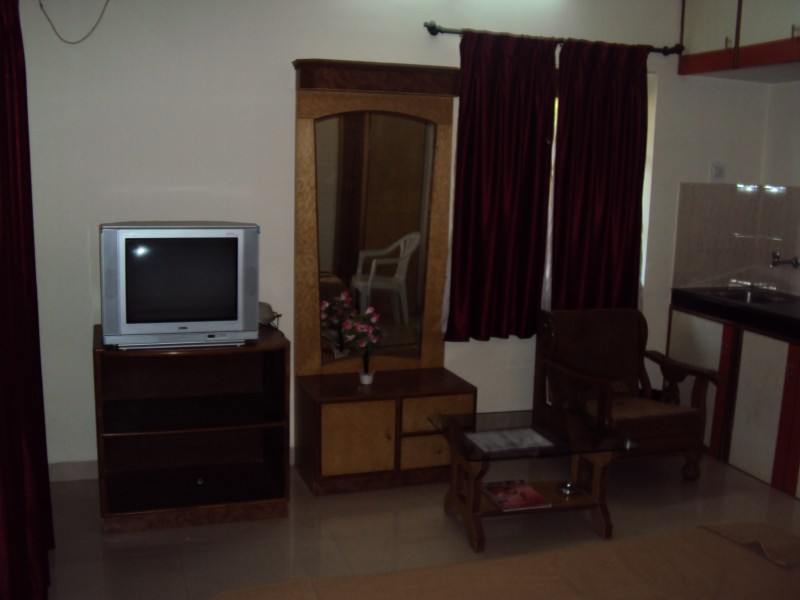 Decorated room