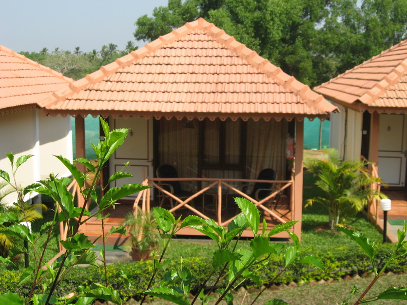 Close view of cottage