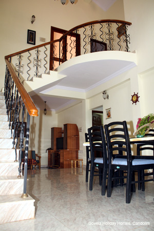 Villa living-dining area