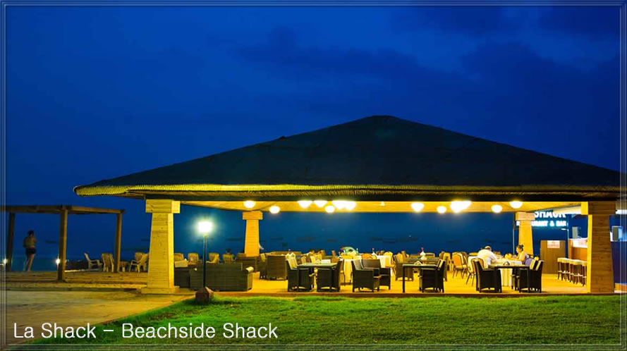 Beachside venue