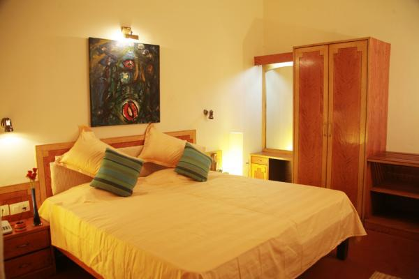 Deluxe Room with Double Balcony & Private Garden