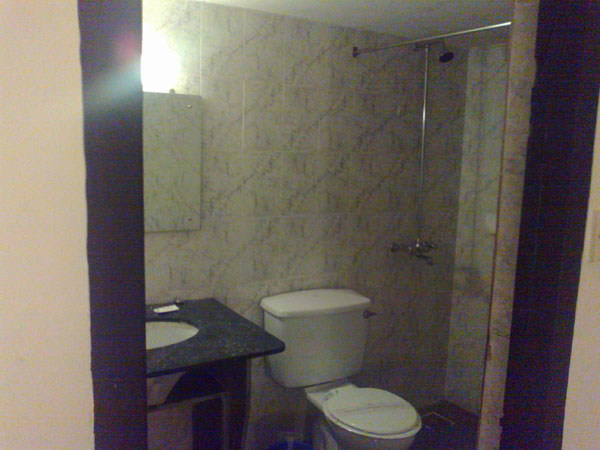 Double AC Room: Washroom
