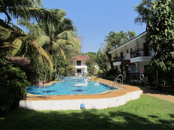 Distant view of Pool