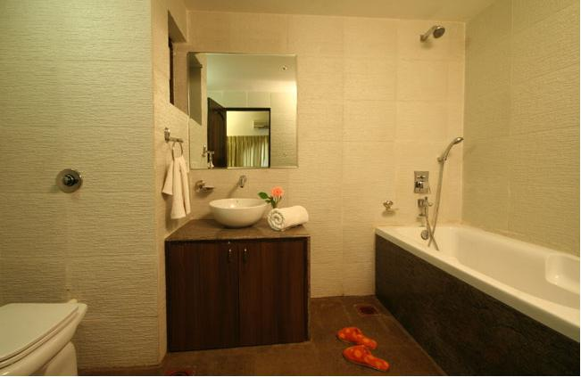 Suite washroom