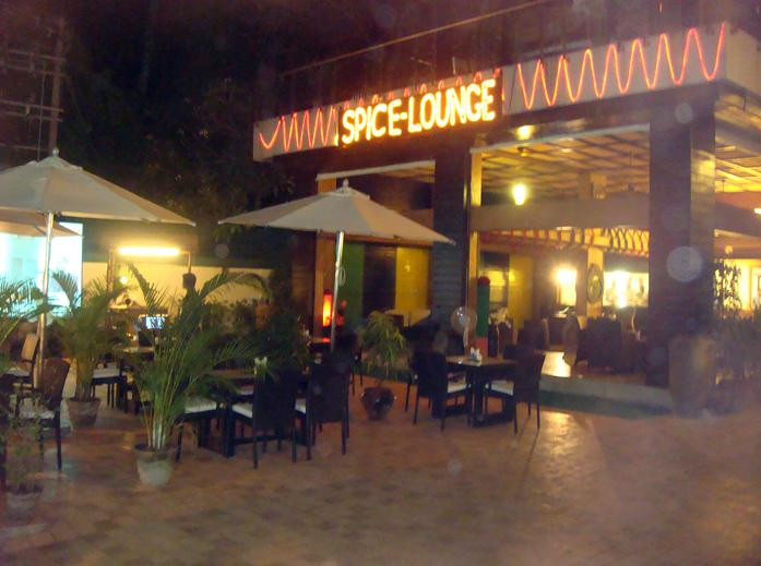 Spice Lounge entrance