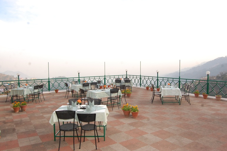 Open-air restaurant