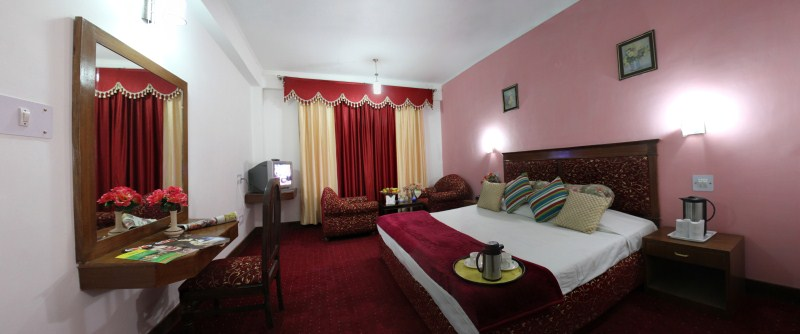 Room at Chander Palace