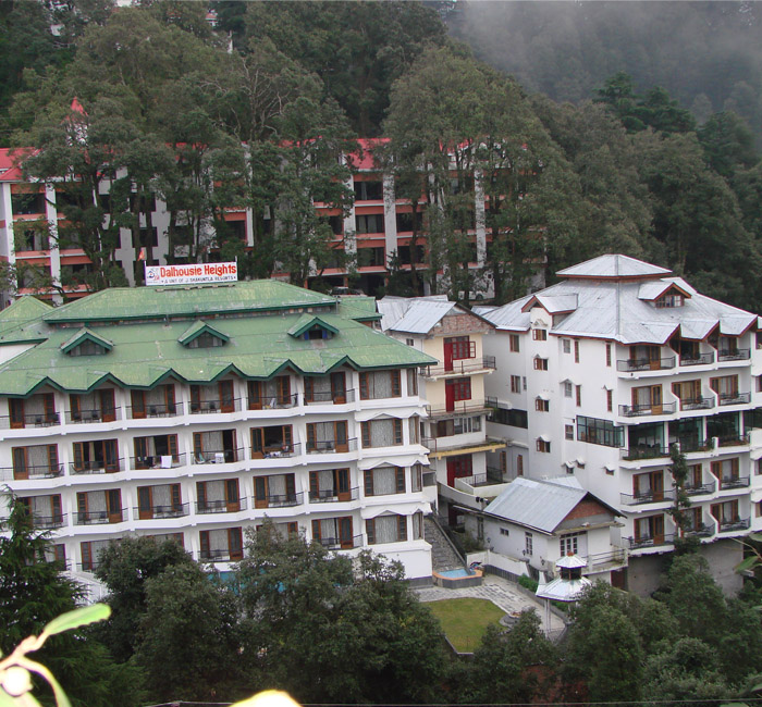 Distant View of the Hotel