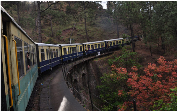 Toy Train ride in Shimla