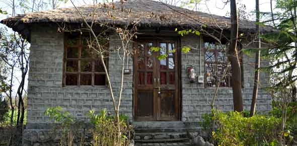 Rock Cottage Exterior View