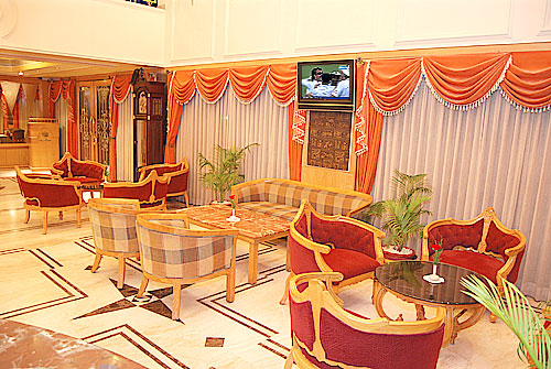 Well-furnished Lobby