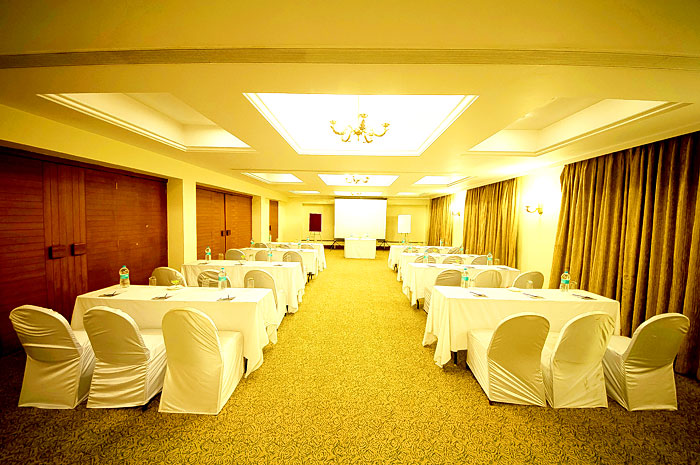 Well Equipped Conference Hall