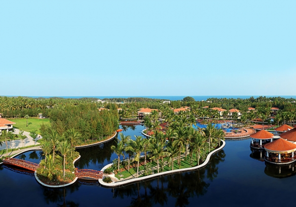 Distant View of the Resort