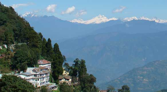 Kanchenjunga Seen From the Resort