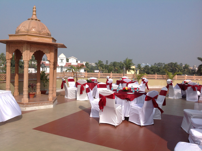 Rooftop Wedding Place