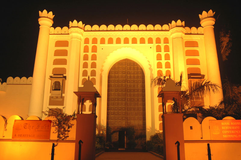 Fort at Night
