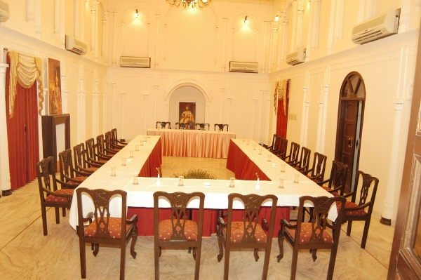 The royal Durbar Hall
