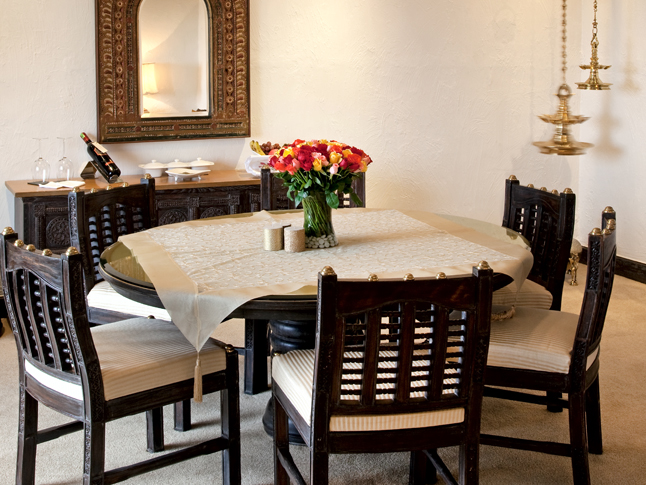 Tanjore Suite Dining Area