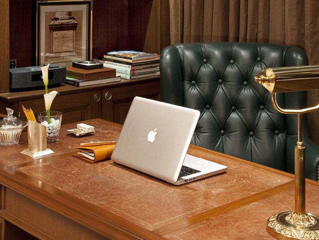 The-Grand Presidential Suite Study Area