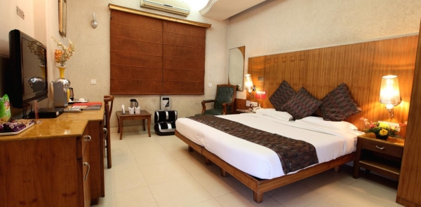 Spacious Super Deluxe Room