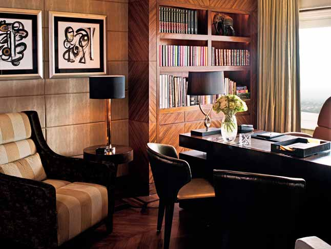 Grand Presidential Suite Study Room