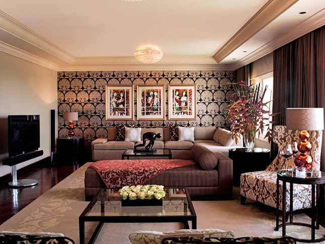 Living Room of Grand Presidential Suite
