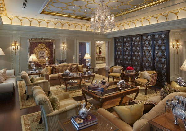 Maharaja Suite Sitting Room