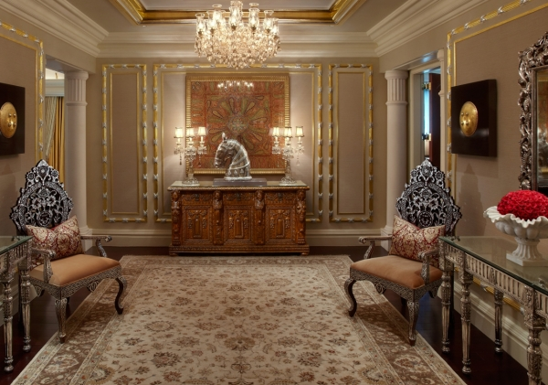 Presidential Suite Entrance