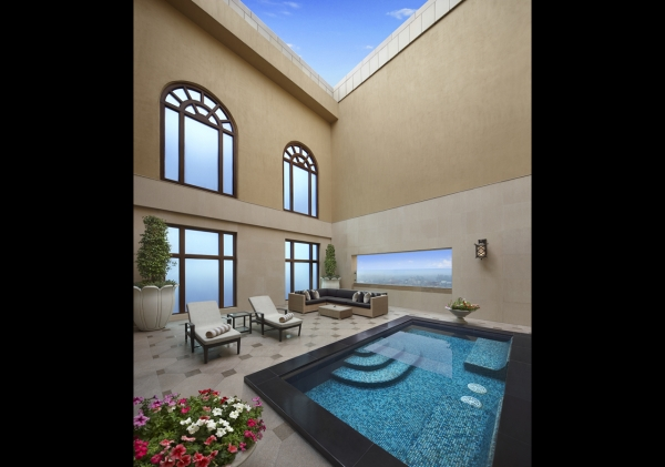 Private Pool in Grand Suite