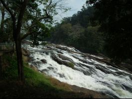 Vazhachal Waterfalls, Athirapally