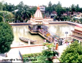 Jagannath temple, Agartala