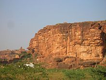 Vista points on top of the North Fort, Badami
