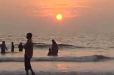 Sunset at Kerala Beaches