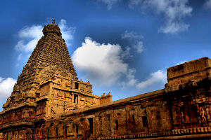 Scenic Vistas of Brihadeshwara Temple